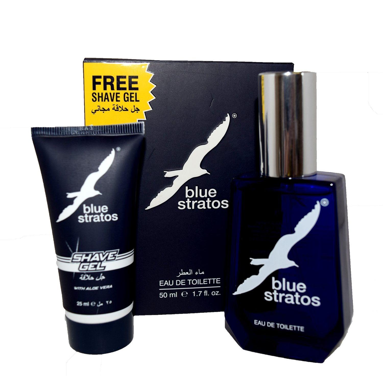 Parfums Bleu Limited Blue Stratos Confezione Regalo 50ml EDT  25ml Gel da Barba