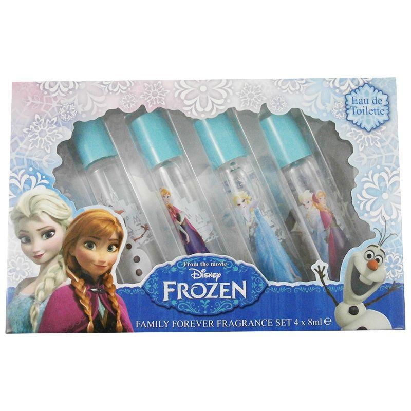 Disney Frozen Confezione Regalo Eau de Toilette 4 x 8 ml Roll On