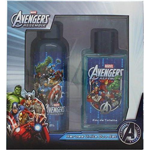 Marvel Avengers Assemble Confezione Regalo 75ml EDT Spray  100ml Gel Doccia