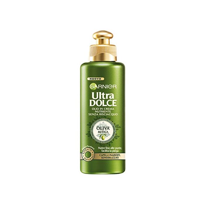 Garnier  Ultra dolce oliva mitica olio per capelli in crema nutriente senza risciacquo 200 ml