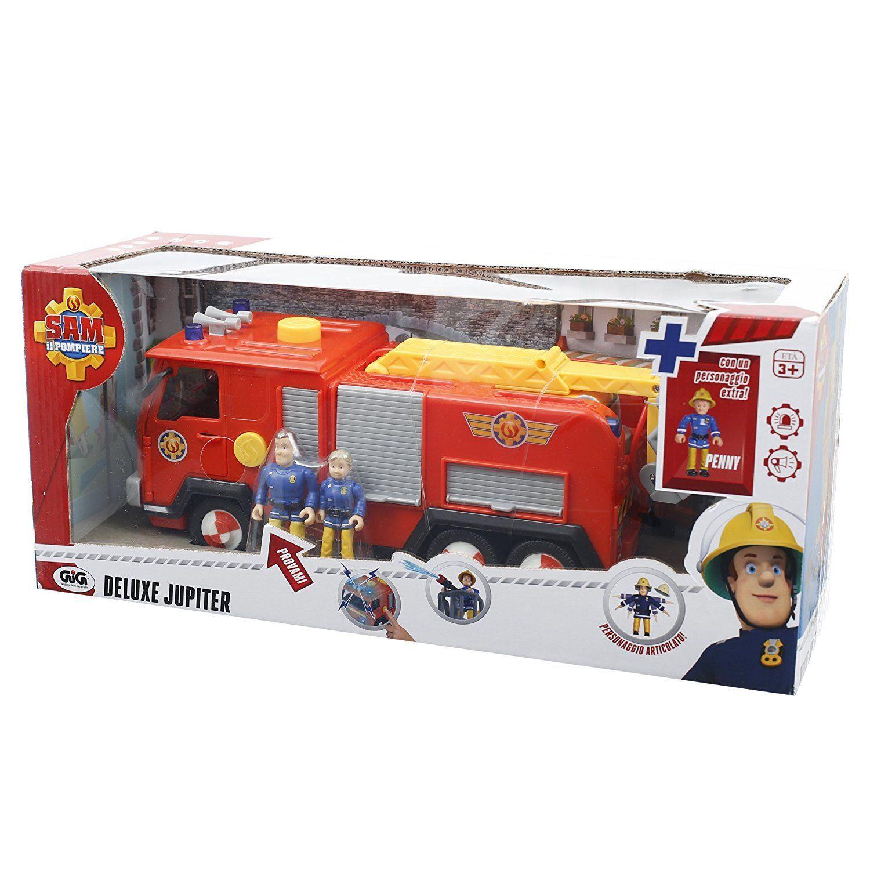 Giochi Preziosi Sam il Pompiere Camion Jupiter con Luci e Suoni