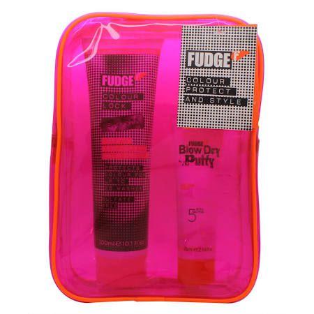 Fudge Colour Protect  Style Confezione Regalo 300ml Colour Lock Shampoo  75ml Blow Dry Putty