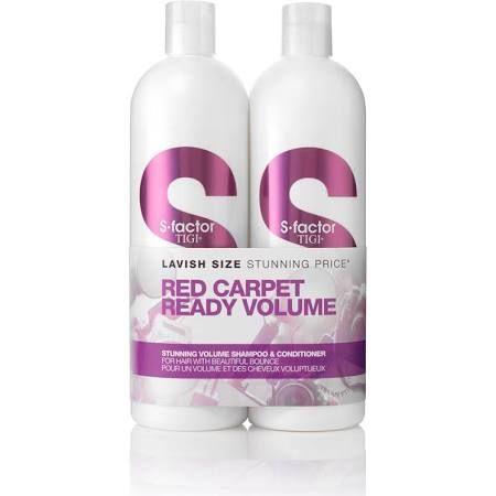 Tigi Duo Pack SFactor Stunning Volume Confezione Regalo 750ml Shampoo  750ml Balsamo