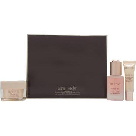 Laura Mercier Infusion de Rose Holiday Skincare Collection 30ml Olio Nutriente  30g Crema Nutriente  10ml Balsamo Nutriente Labbra