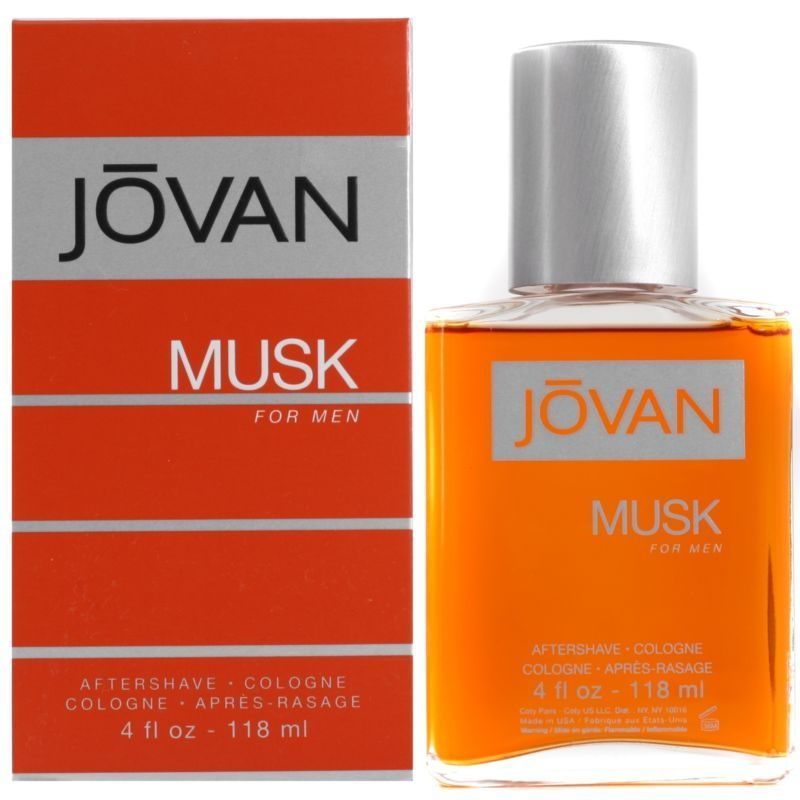 Jovan Musk For Men Dopobarba 118 ml Splash