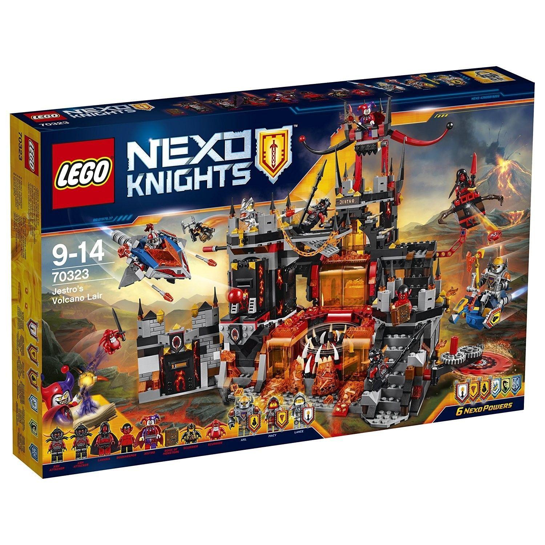 Lego Nexo Knight  Il Palazzo Vulcanico Jestro