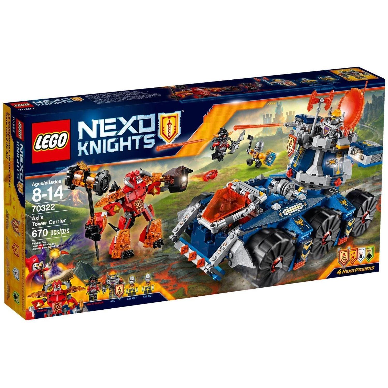 Lego Nexo Knight Il Portatorre di AXL