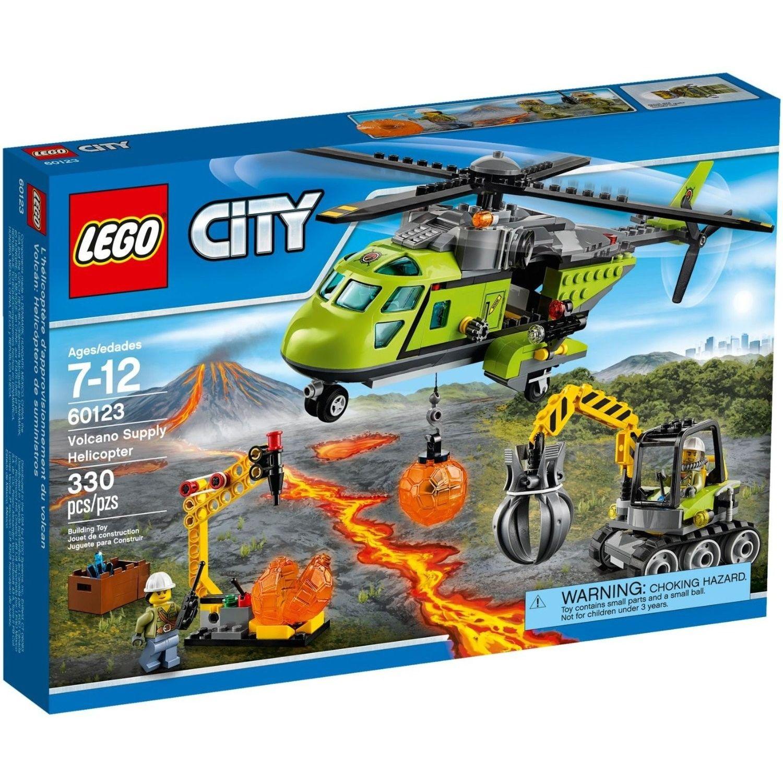 Lego City Elicottero dei Rifornimenti Vulcanico