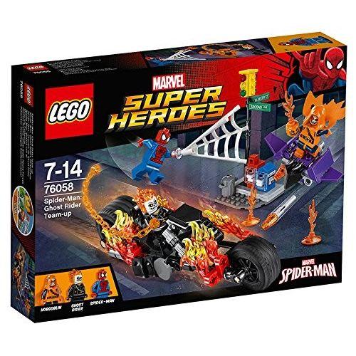 Lego Ghost Raider si allea con Spider man