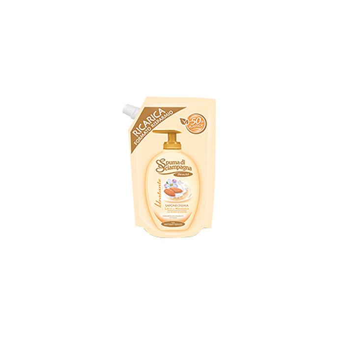 Spuma di Sciampagna  Ecoricarica sapone crema mandorla 400 ml