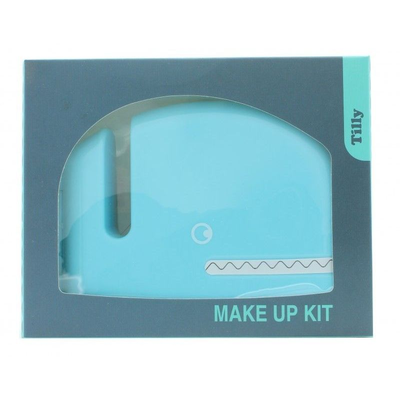 Tilly Whale Make Up Kit  16 x Ombretti  2 x Fard  1 x Rossetto  3 x Lucidalabbra