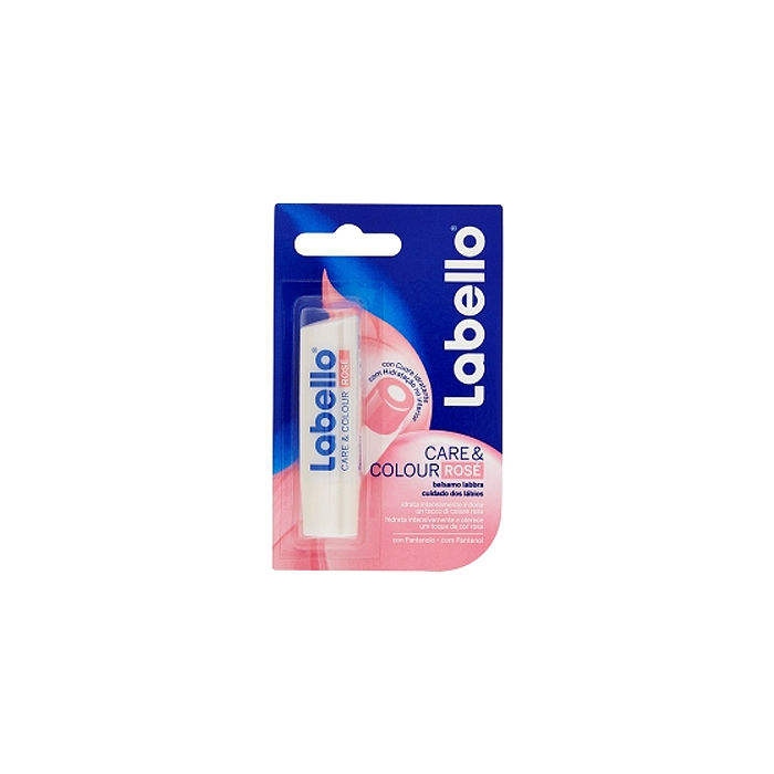 Labello  Care  colour rose  balsamo labbra