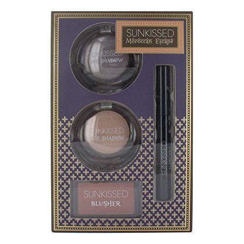 Sunkissed Moroccan Escape Dream Glow Confezione Regalo 2 x 6g Ombretti  4g Fard  55ml Mascara Nero