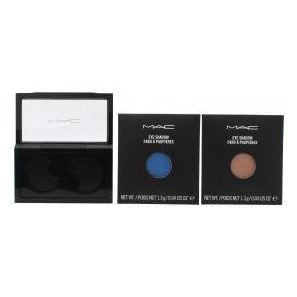 MAC Pro Palette Pro Colour Eyeshadow Set 2 x 13g Ricarica Ombretti  All That Glitters  Fresh Water