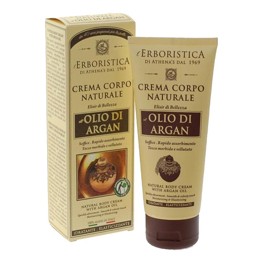 LErboristica Crema per il corpo allolio di argan tubo da 200 ml