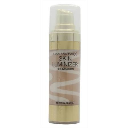 Max Factor Thunder  Light Skin Luminizer Porcelain Fondotinta 30ml  45 Warm Almond