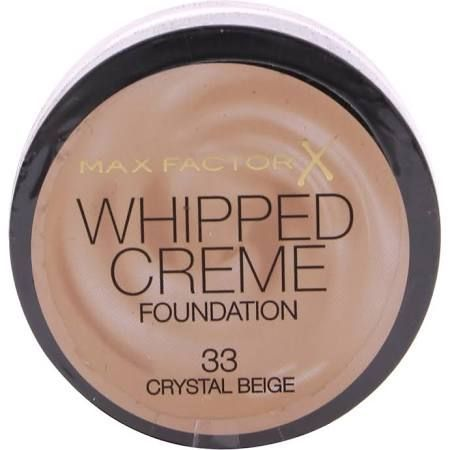 Max Factor Whipped Creme Foundation 18ml  Crystal Beige 33