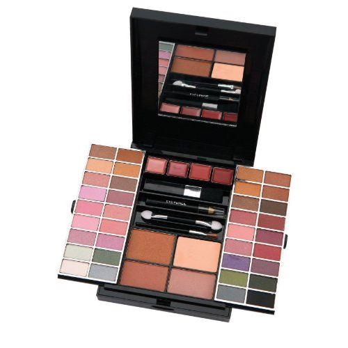 Active Glamour Endless Colour Compact con Specchio 36 Ombretti  4 Rossetti  2 Fard  1 Polvere Abbronzante  1 Eye Liner  Applicatori
