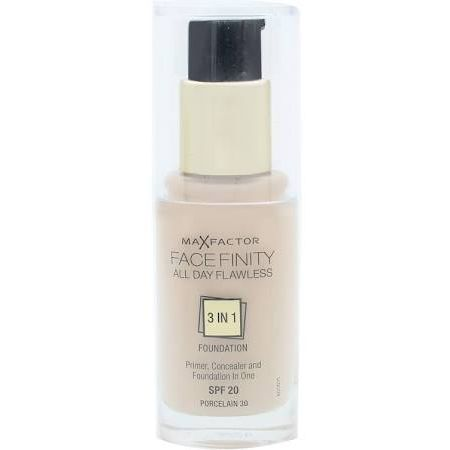 Max Factor Facefinity All Day Flawless 3 in 1 Foundation 30ml SPF20 Crystal Beige 33