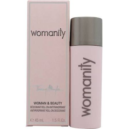 Thierry Mugler Womanity Deodorante Roll On 45ml