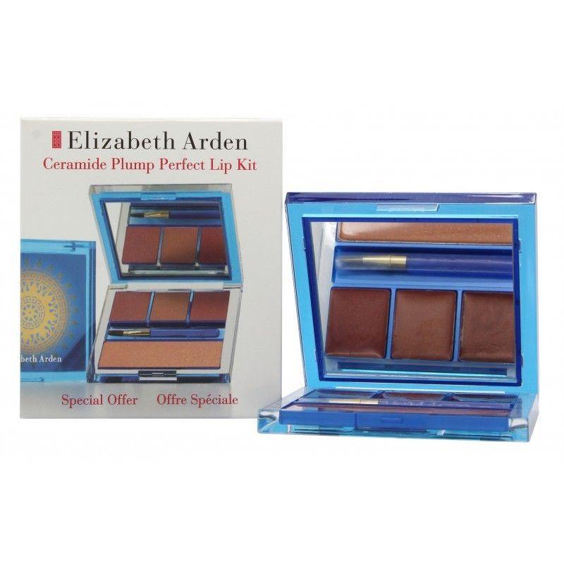 Elizabeth Arden Ceramide Plump Perfect Lip Confezione Regalo 3 x 4 g Plump Perfect Rossetti  35 g Lucidalabbra