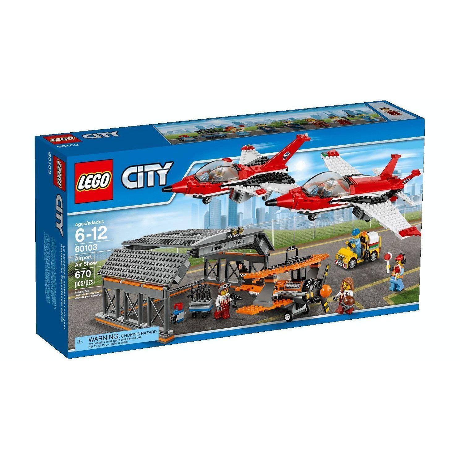 Lego City Show Aereo allAeroporto