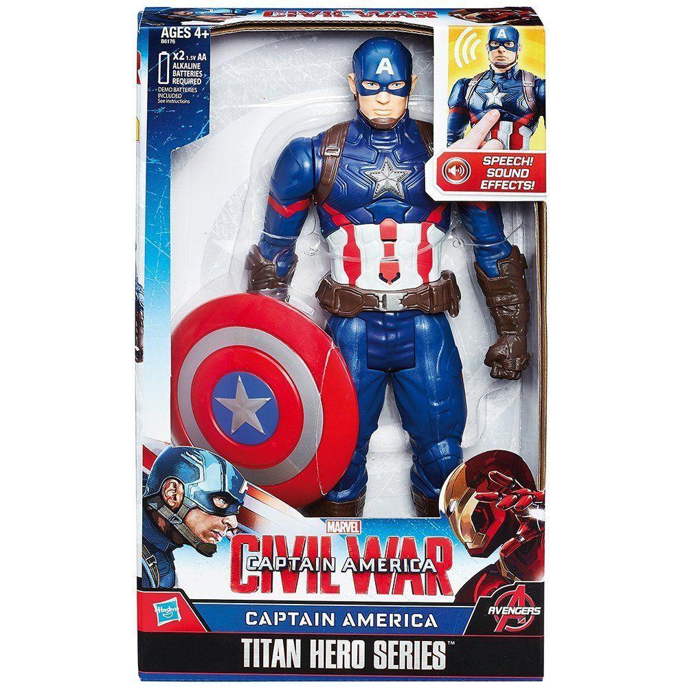 Hasbro Capitan America Personaggio Elettronico 30 cm