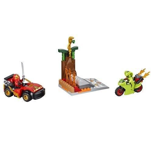 Lego Juniors Ninjago Resa dei Conti con Il Serpente