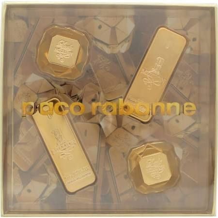 Paco Rabanne His  Hers Confezione Reaglo 2 x 1 Million 5ml EDT  2 x Lady Million 5ml EDP