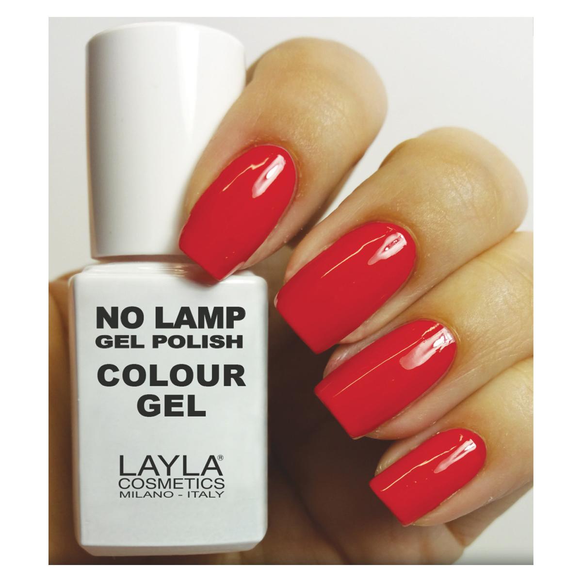 Layla  No lamp gel polish  smalto 7 wondered