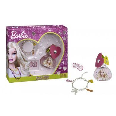 Barbie Confezione Regalo 50 ml EDT  Braccialetto  Tatuaggio