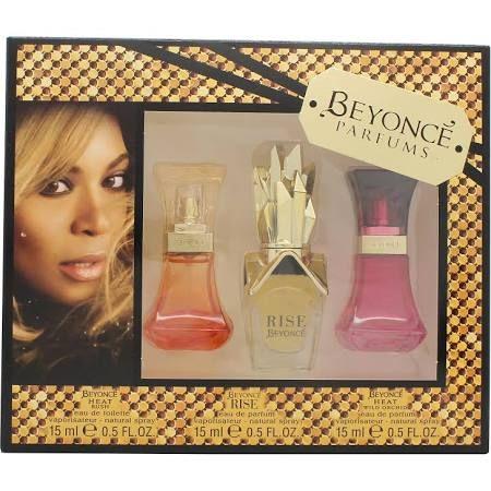Beyonce Confezione Regalo 15ml Heat EDP  15ml Rise EDP  15ml Wild Orchid EDP