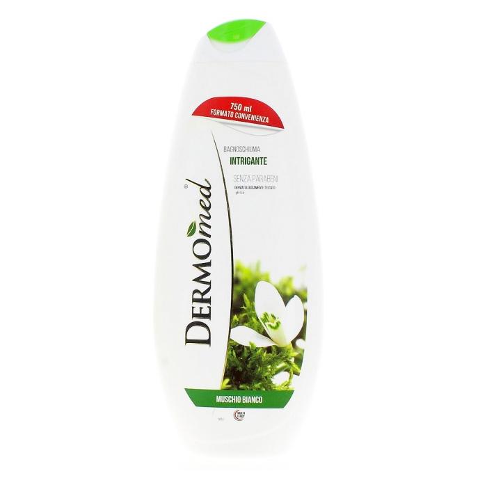 Dermomed  Bagnoschiuma muschio bianco 750 ml