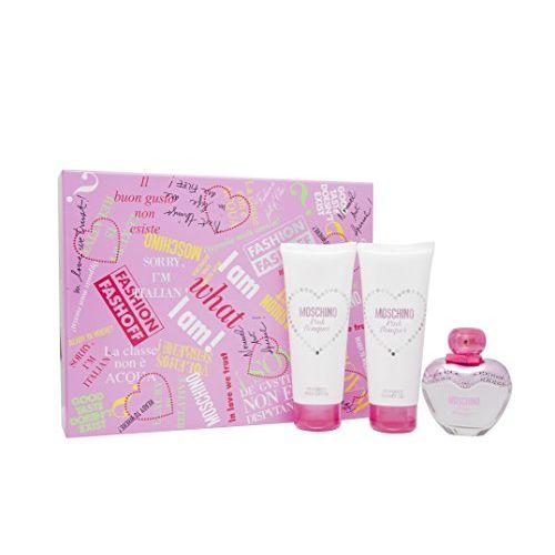 Moschino Pink Bouquet Confezione Regalo 50 ml EDT  100 ml Lozione Corpo  100 ml Gel Doccia