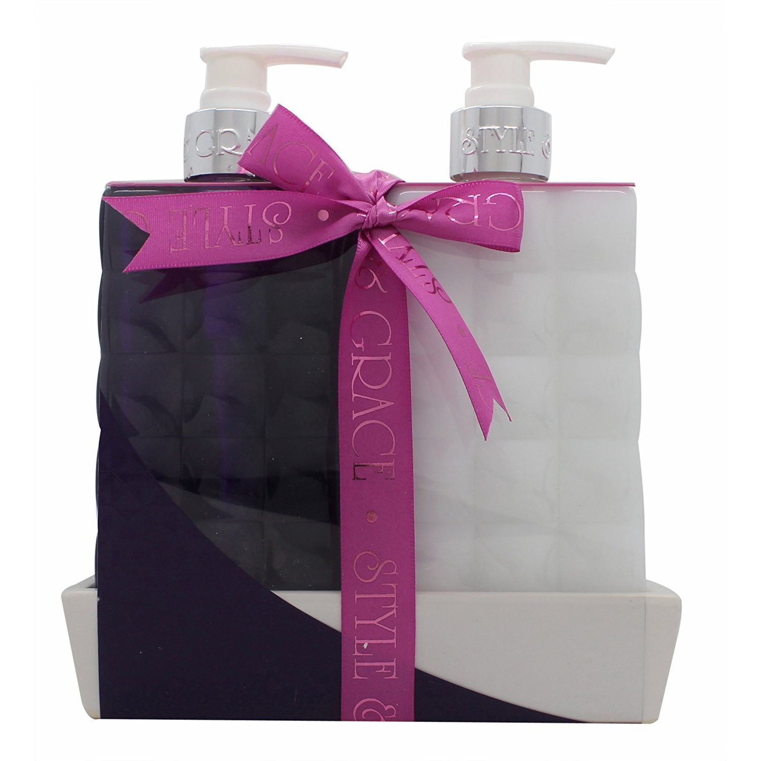 Style  Grace Bath  Body Twinset Confezione Regalo 500ml Bagnoschiuma  500ml Lozione Corpo