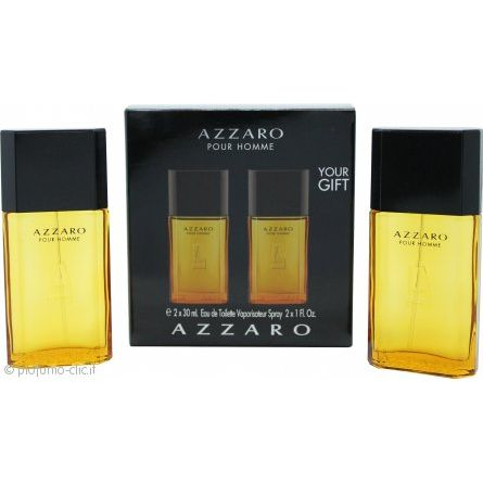 Azzaro Pour Homme Confezione Regalo 100 ml EDT  150 ml Hair  Body Shampoo