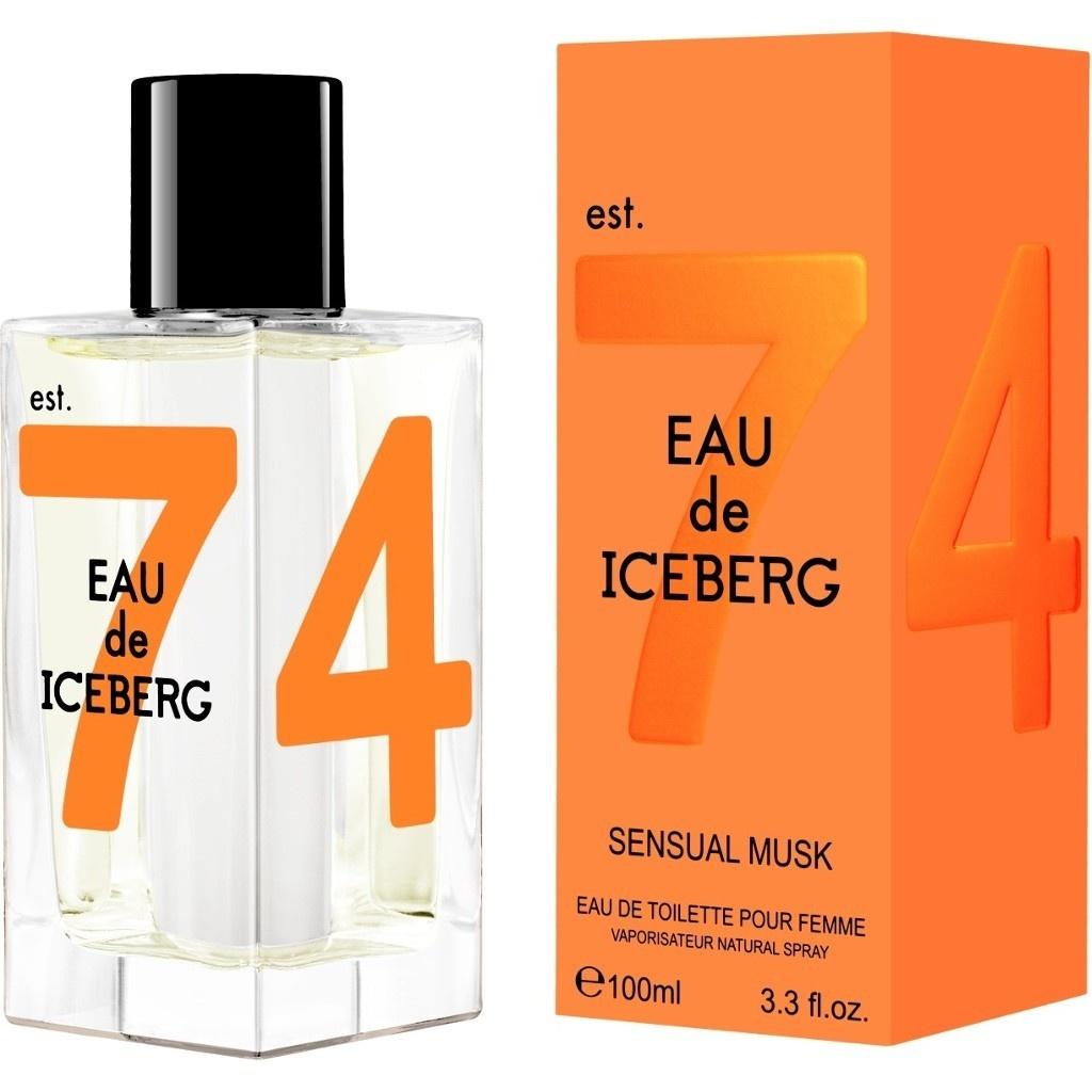 Iceberg  Eau de iceberg sensual musk donna  eau de toilette 100 ml