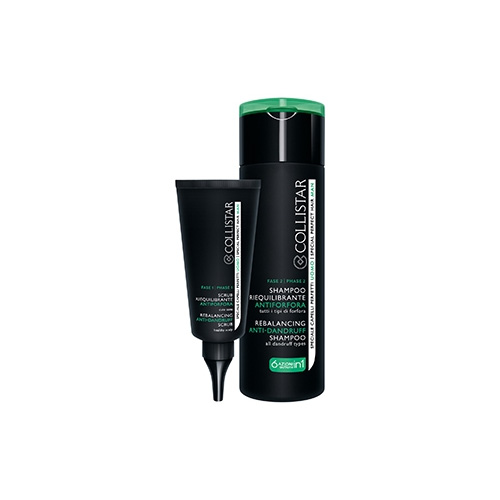 Collistar  Kit trattamento antiforfora perfezione cute uomo  scrub 50 ml  shampoo 200 ml