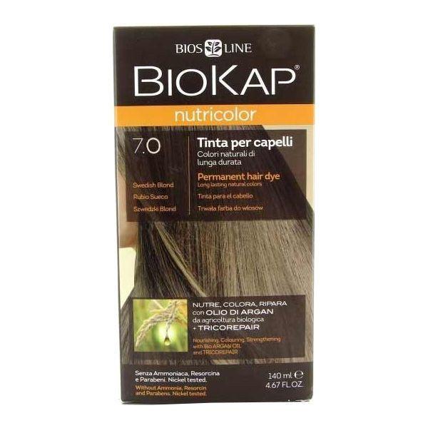 Bios line biokap nutricolor tinta 70 biondo medio 140 ml