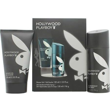 Playboy Hollywood Confezione Regalo 150ml Gel Doccia  150ml Deodorante Spray