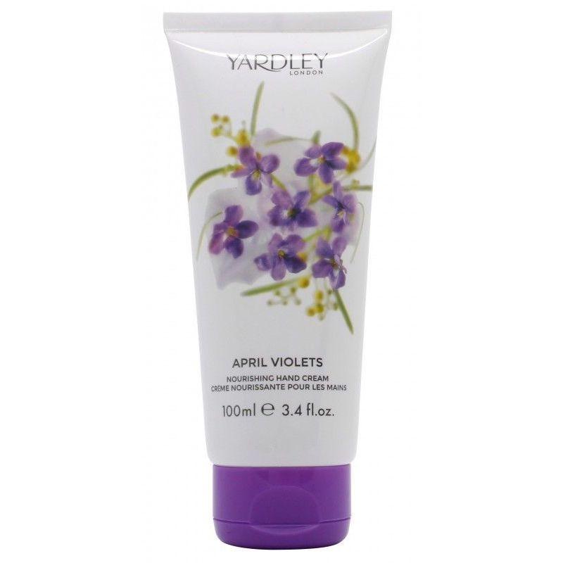Yardley April Violets Crema Mani 100 ml