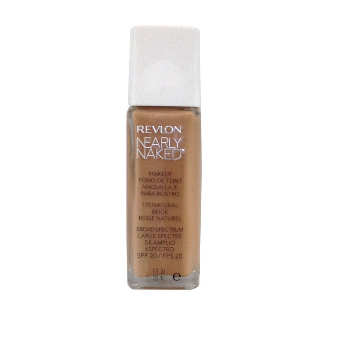 Revlon Nearly Naked Fondotinta 30 ml Natural Beige  SPF20