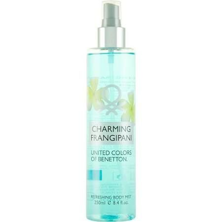 Benetton Charming Frangipane Body Mist 250ml