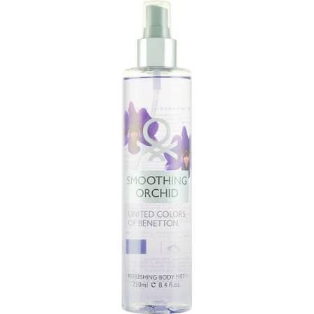 Benetton Smoothing Orchid Body Mist 250ml