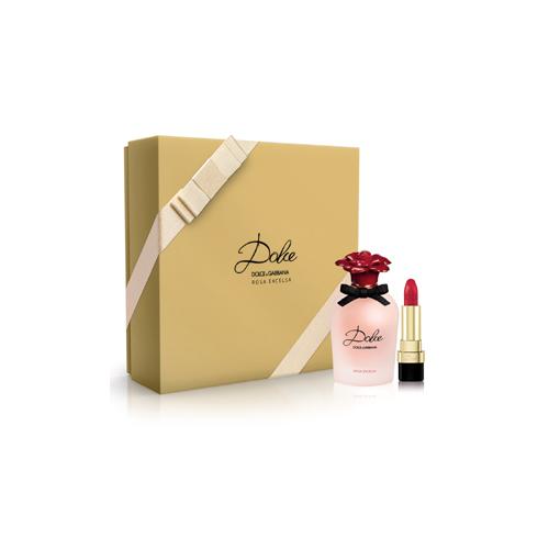 DolceGabbana  Cofanetto rosa excelsa  eau de parfum 50 ml  rossetto