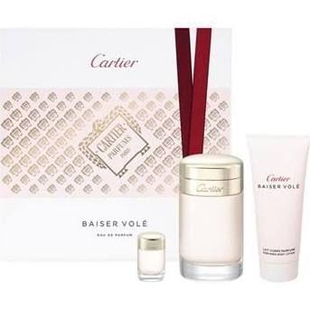 Cartier Baiser Vole Confezione Regalo 100ml EDP  100ml Lozione Corpo  EDP Mini
