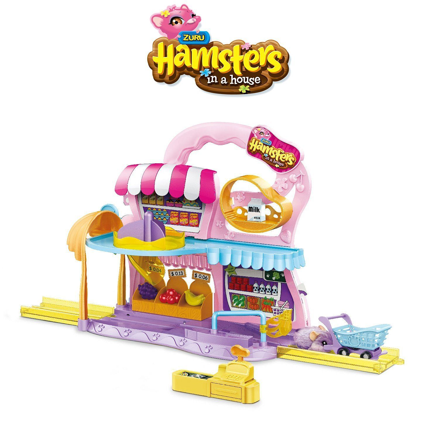 Hamsters In A House 6031572  Playset Supermercato