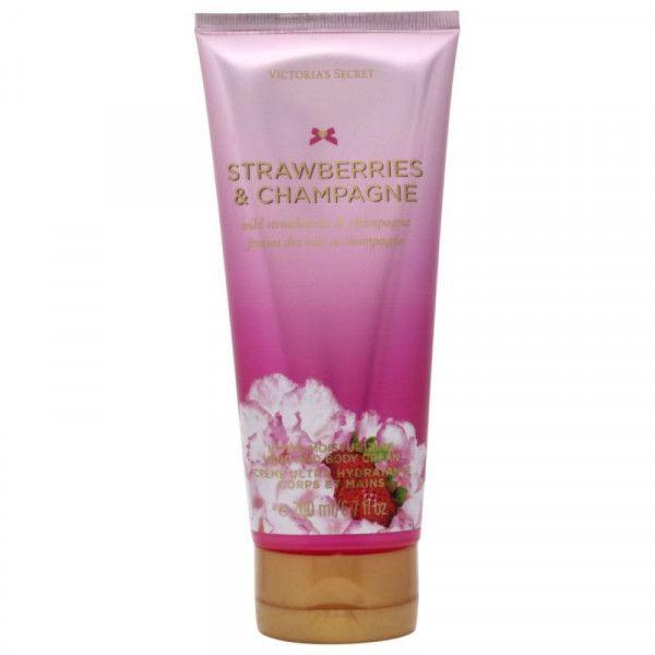 Victorias Secret Strawberries and Champagne Crema Mani  Corpo 200 ml