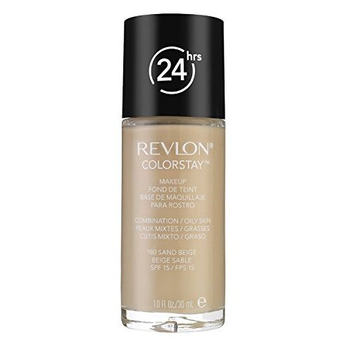 Revlon ColorStay Fondotinta Pelli Miste Grasse 30 ml 180 Sand Beige