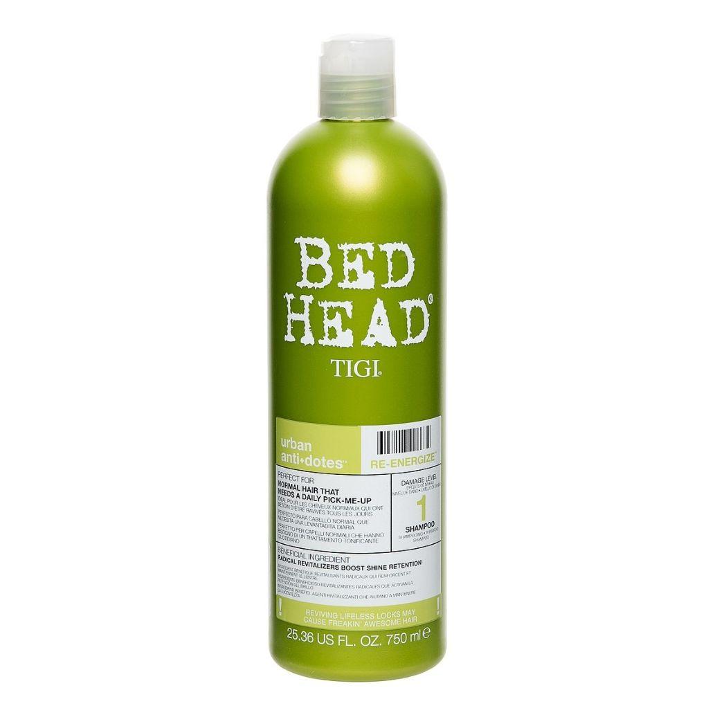 Tigi Bed Head Urban Antidotes Reenergize Shampoo  750 ml